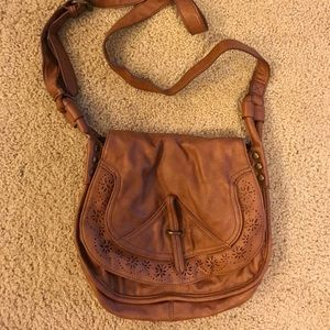 Topshop | Medium brown crossbody purse